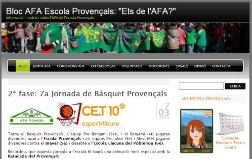 Blog AFA Escola Provençals