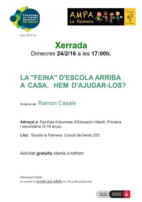 Xerrada_Deures