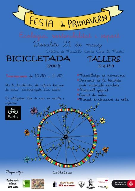 cartell bici primavern