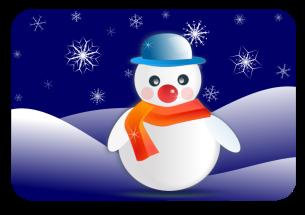 snowman-in-snowflakes-dark-800px